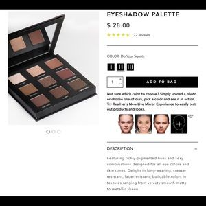 RealHer Eyeshadow Shadow Palette -  Do Your Squats